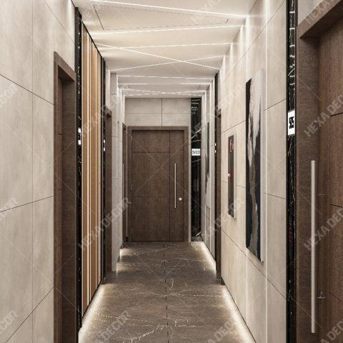 طراحی داخلی مجتمع تجاری اداری تیتان سنتر
