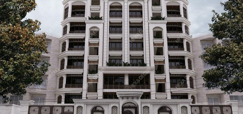 طراحی و اجرا نما مجتمع مسکونی فردوس