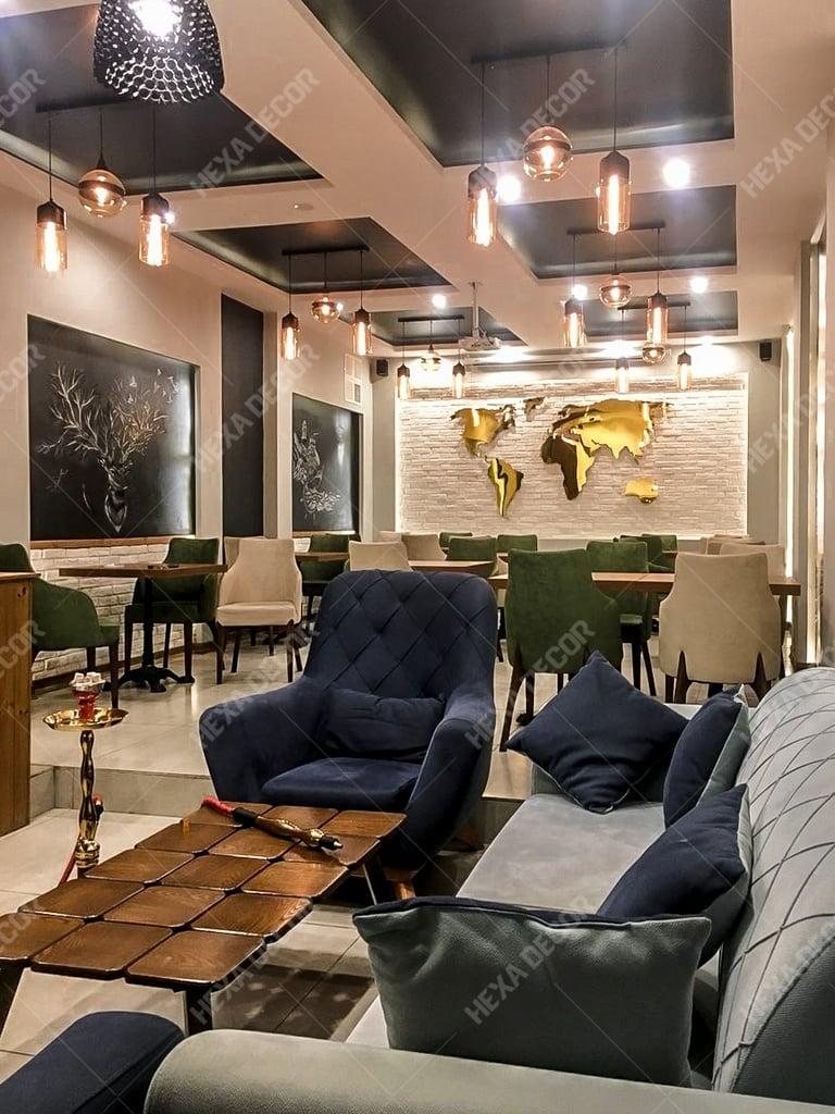 بازسازی و اجرای دکوراسیون داخلی رستوران کایزن