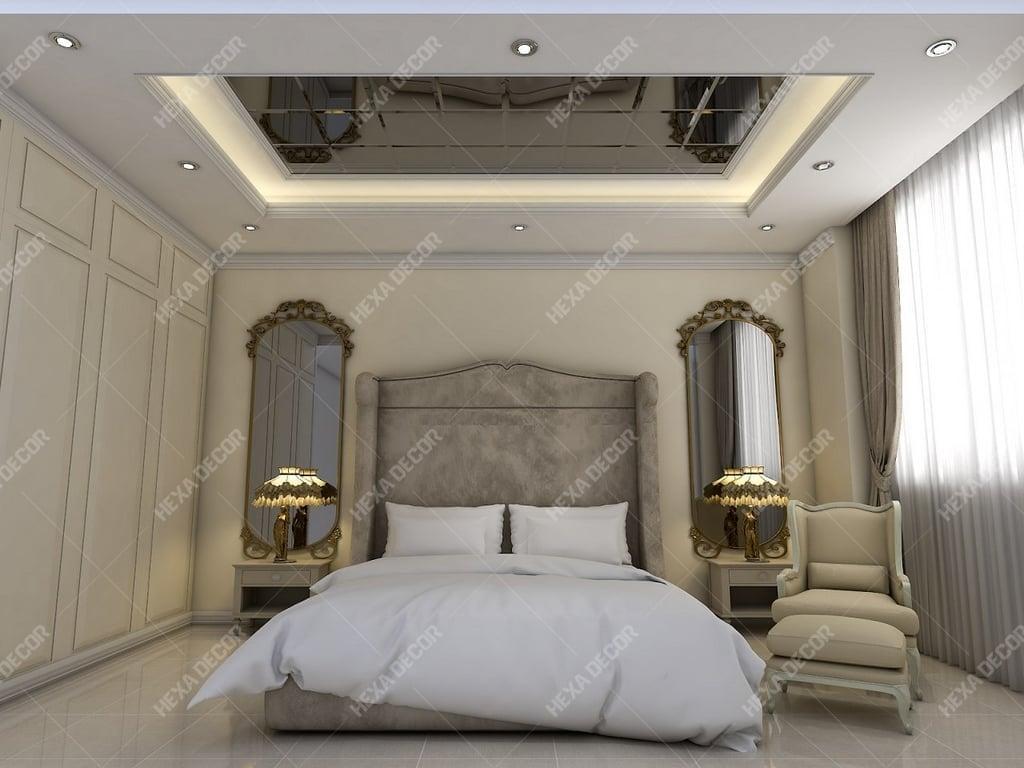 طراحی و اجرا اتاق خواب مستر
