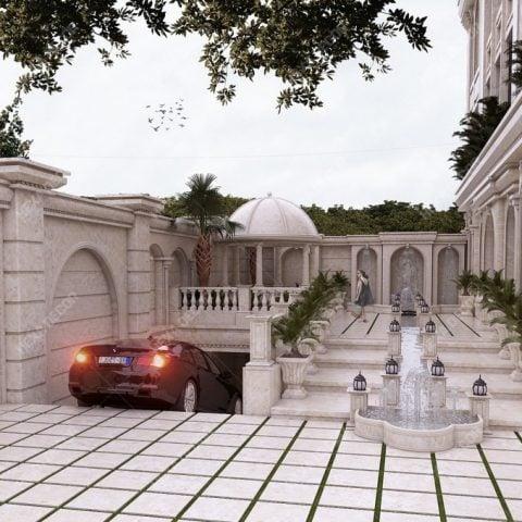 طراحی و ساخت مجتمع مسکونی اوین