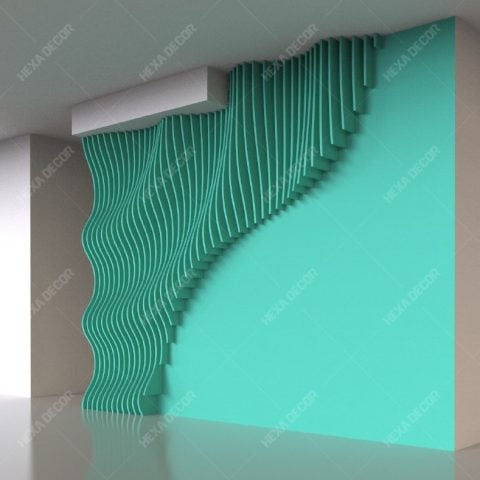 طراحی و ساخت دیوار پارامتریک 2