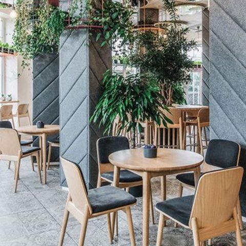 طراحی داخلی رستوران هگزا دکور